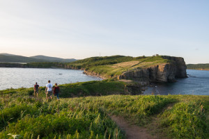 Russky island hiking tour